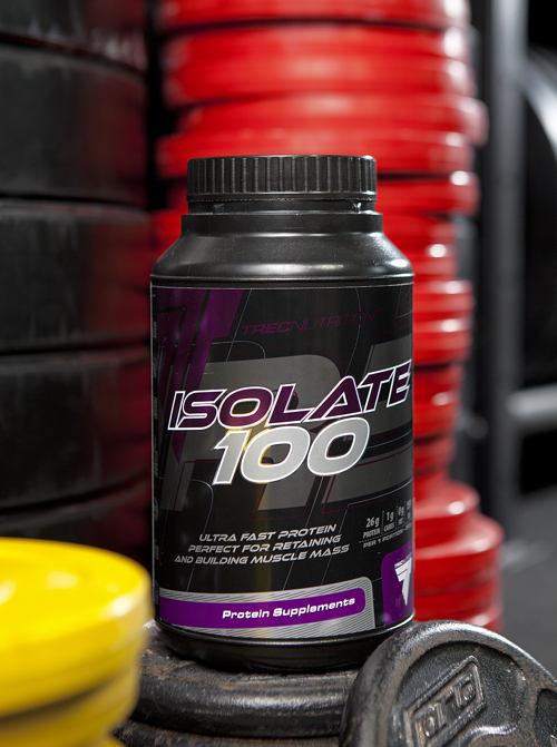 białko serwatkowe isolate 100